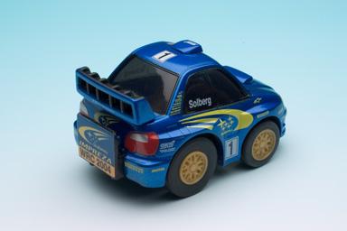 チョロQ スバル インプレッサWRC2004